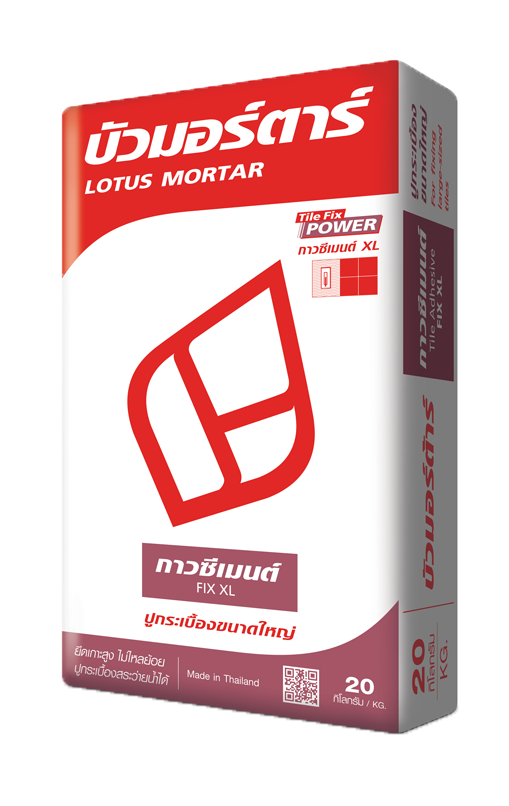 Lotus Mortar Tile Adhesive FIX XL.